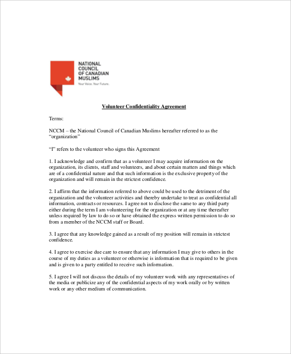 Parent/Volunteer Confidentiality Agreement U0026 Code Of U2026 View, Download And  Print Volunteer Confidentiality Agreement Pdf Template Or Form Online.