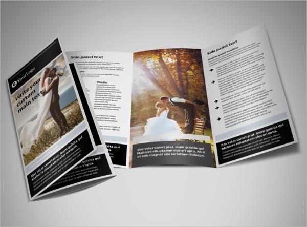 Sample Wedding & Event Planning Brochure Template
