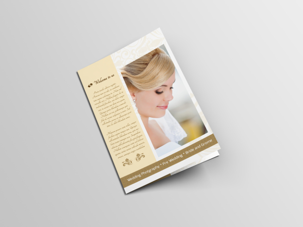 Sample Wedding Brochure
