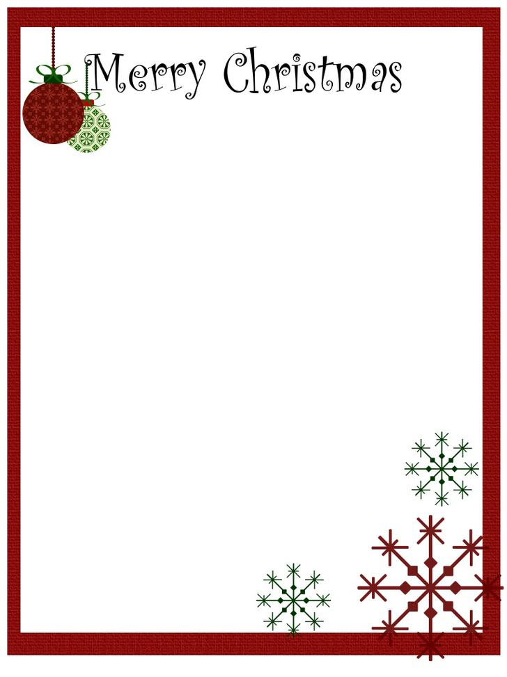 Santa Claus Christmas Letter Template Free Download