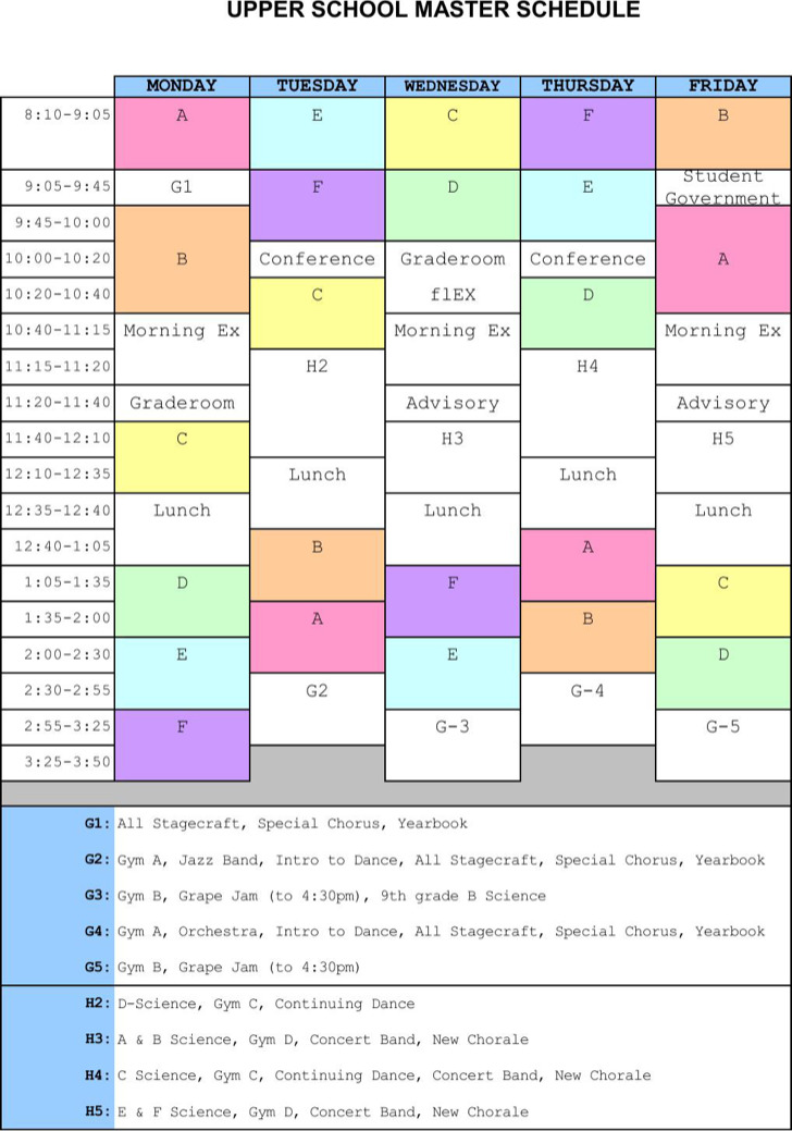master schedule templates download free premium. Black Bedroom Furniture Sets. Home Design Ideas