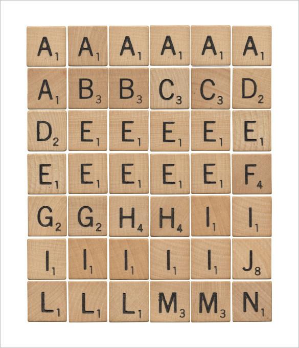 Scrabble Game Vocabulary Worksheet