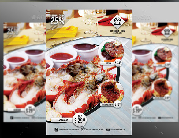 Restaurant Flyer Template Download Free Premium Templates Forms