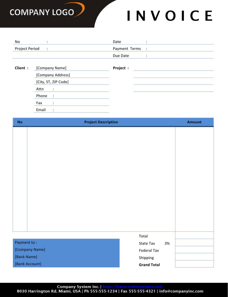 Download Self Employed Invoice Template Excel | Rabitah.Net