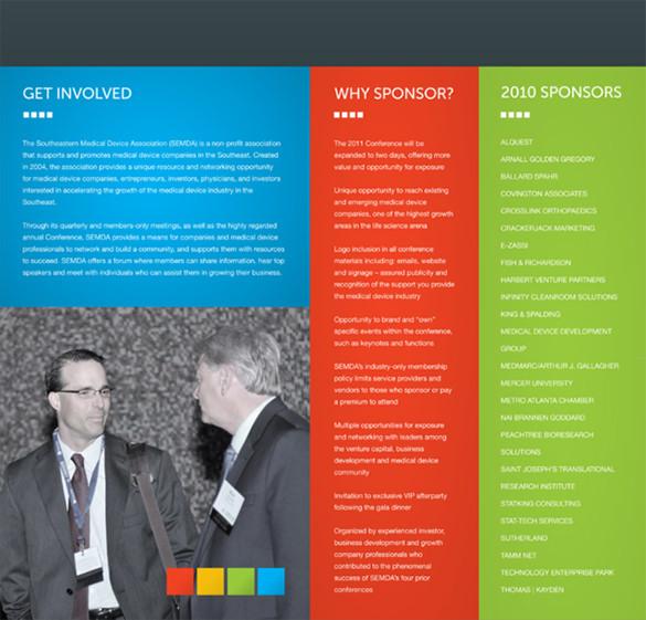 SEMDA Event Brochure Template
