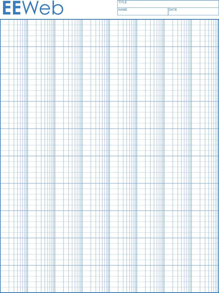 Semi-log Graph Paper 2