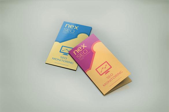SEO Business Tri-Fold Brochure