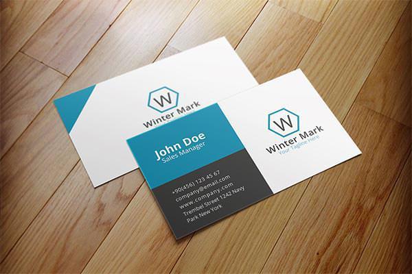 Simple Corporate Business Card 1