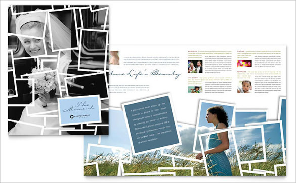 Simple Photographer Brochure Template