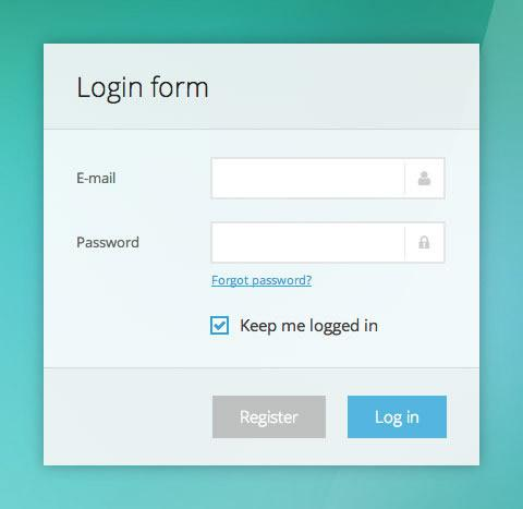 Slick or Clean HTML5 and CSS3 Responsive Forms