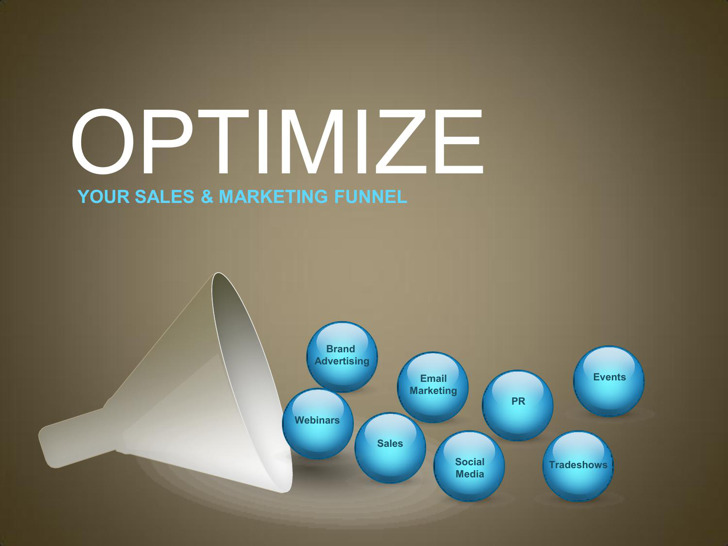 Slides Marketing Funnel Template1