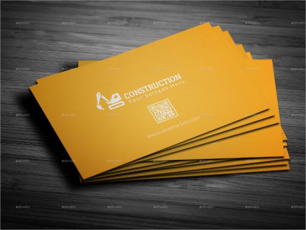 Smart Construction Business Card