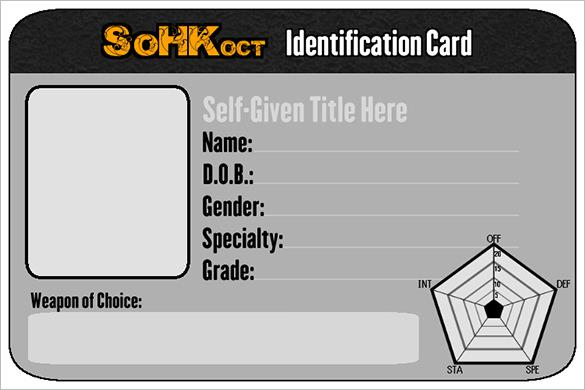 Id Card Psd Templates  Download Free  Premium Templates Forms