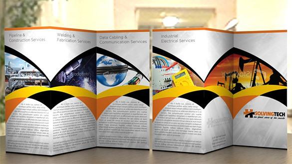 Solving Tech Corporate Brochure Template