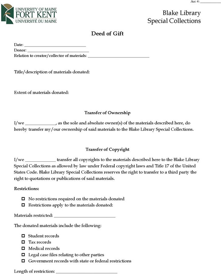 Deed Of Indemnity