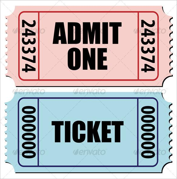 sports ticket template free download - ticket templates download free premium templates
