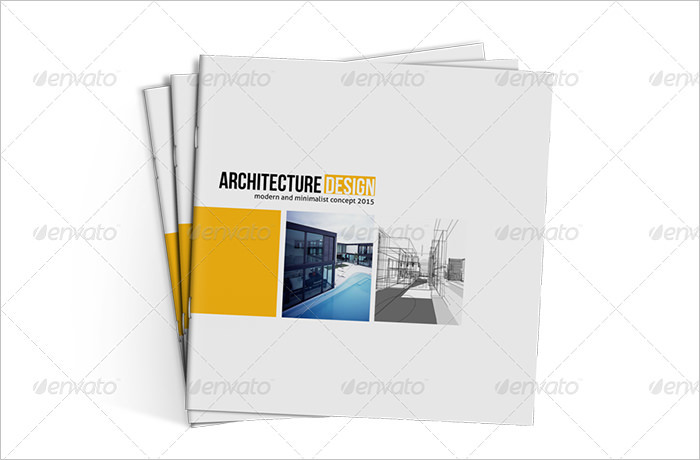 Square Architecture Brochure Template