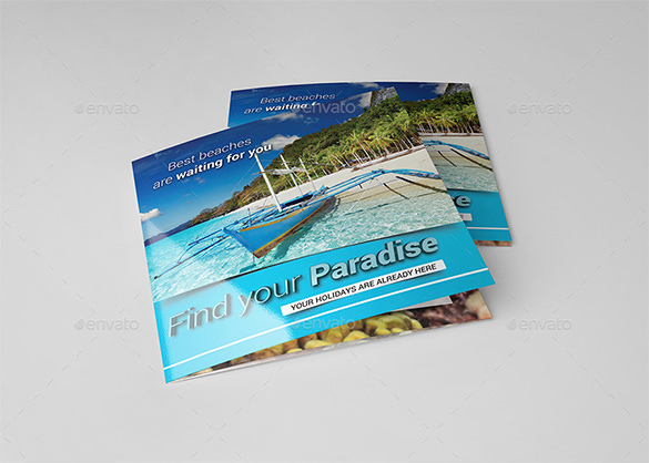 Square Travel / Holiday Brochure