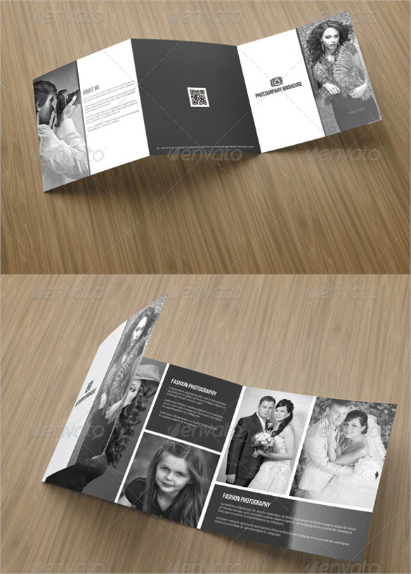 Square Tri- Fold Photography Brochure Download
