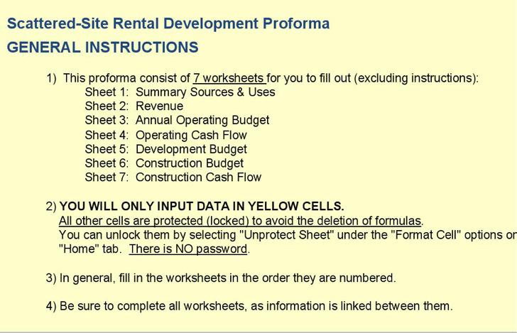 Ssr Development Proforma Template