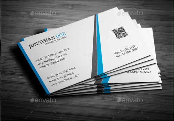 Standard Magnetic Business Card