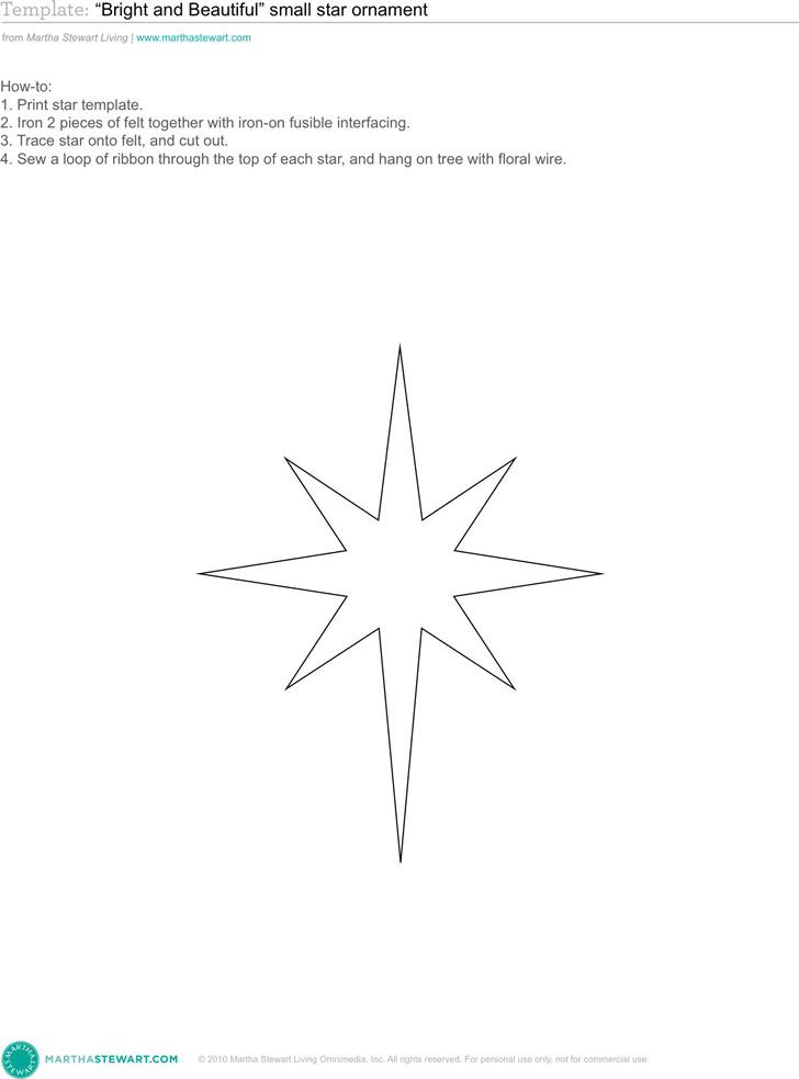 Star Template 3