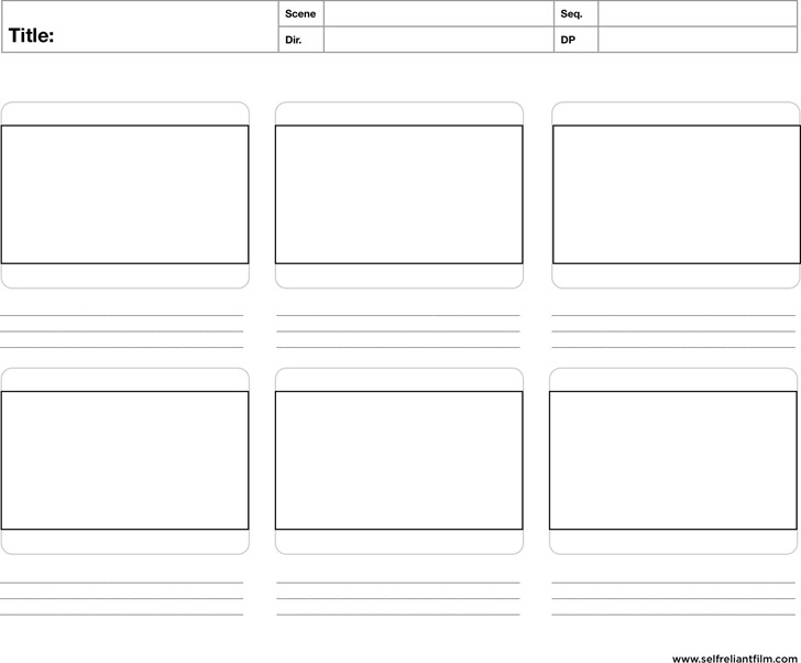 Storyboard Template | Download Free & Premium Templates, Forms