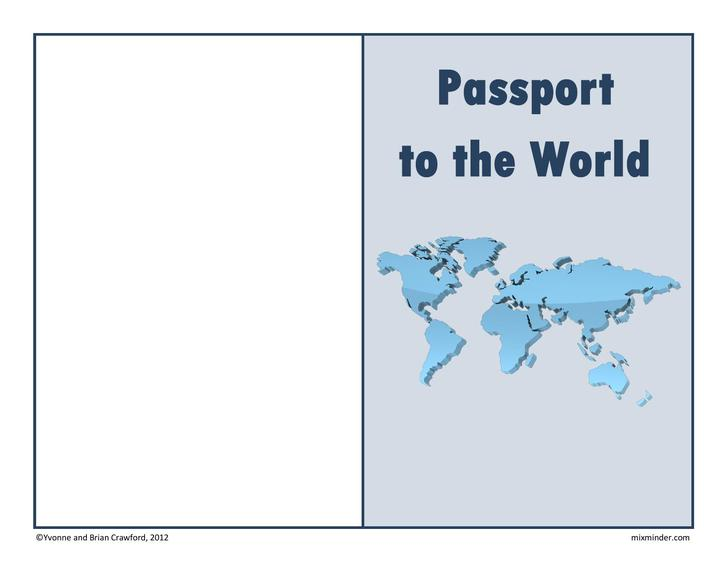 Passport Template  Download Free  Premium Templates Forms