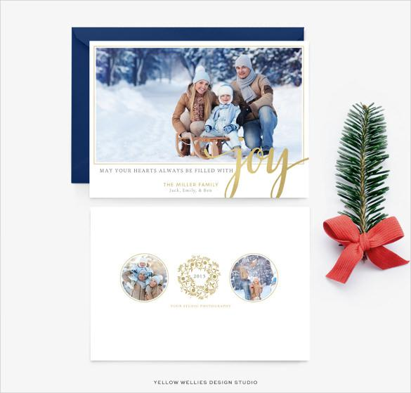 Stunning Holiday Card Template