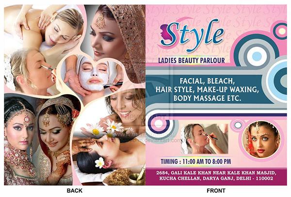 Style Ladies Beauty Parlour Brochure