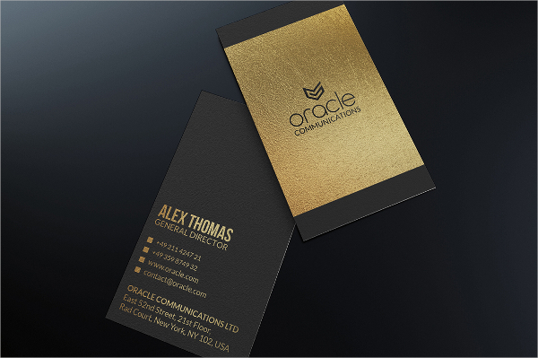 Style Metal Business Card