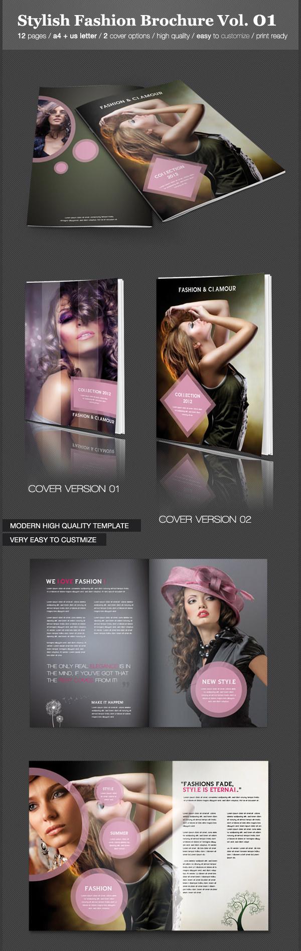 Stylish Fashion Brochure Vol.01