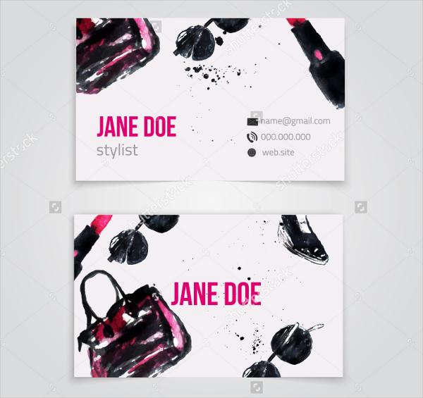 Stylish Fashion Business Card