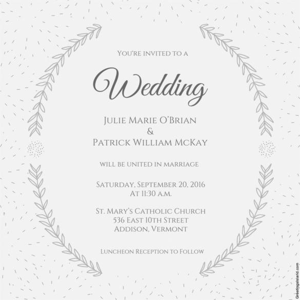 Wedding Invitation Templates Download Free Premium Templates - Wedding invitation templates: disney wedding invitation templates