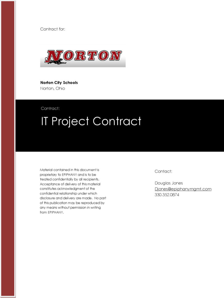 Summer 2014 Norton Computer Upgrade Project Contract 2014 6 2 Edits