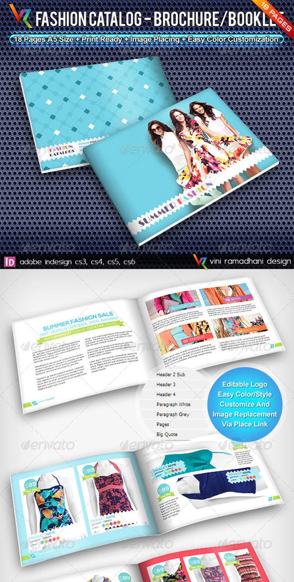 Summer Fashion Catalog Brochure