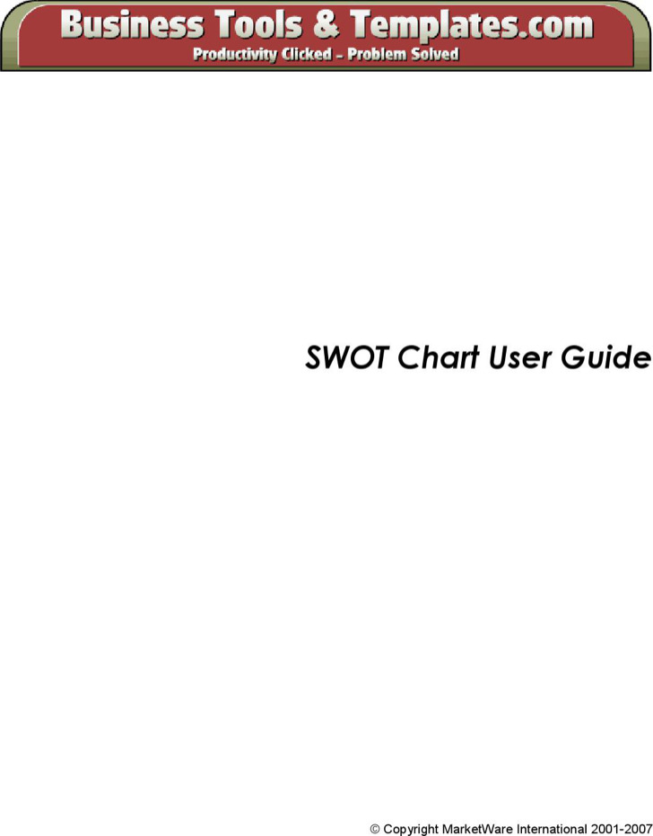Swot Analysis Bubble Chart