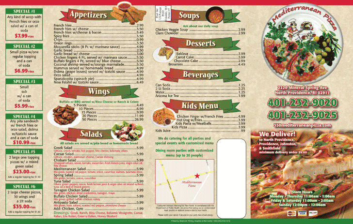 Takeout Menu Template | Download Free & Premium Templates, Forms ...