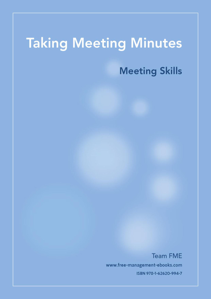 Taking minutes template download free premium for How to take meeting minutes template