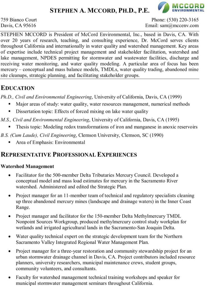 Project Manager Resume Template – Technical Project Manager Resume Sample