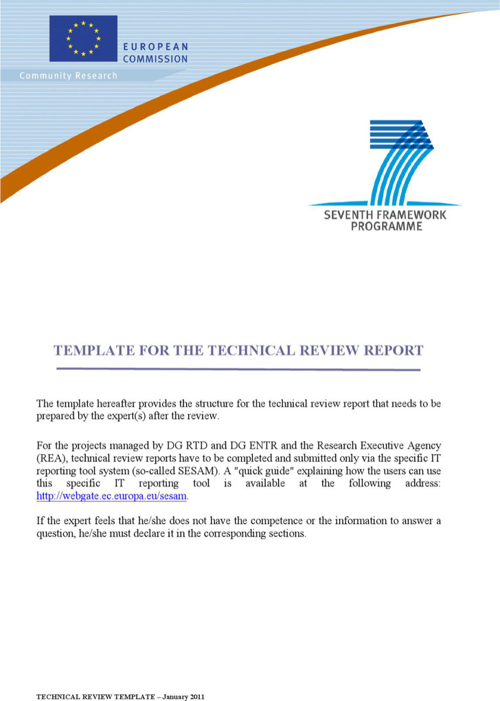 technical report template 8 free word pdf documents download