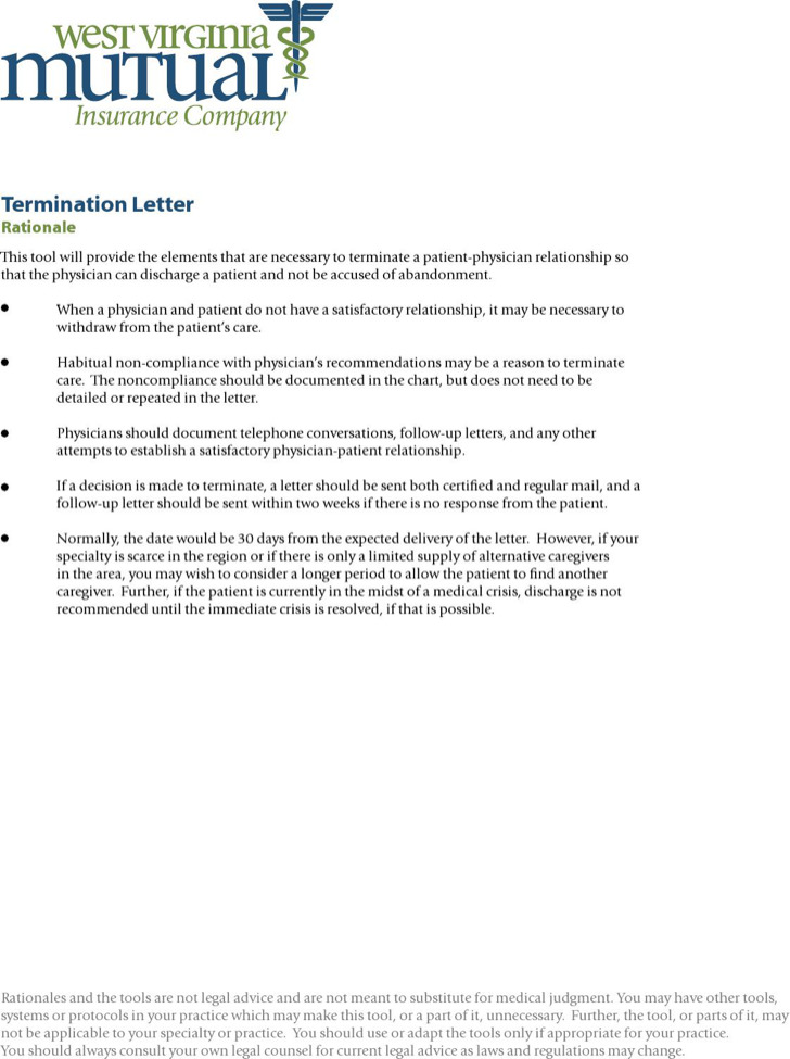 Termination Letters Download Free Amp Premium Templates
