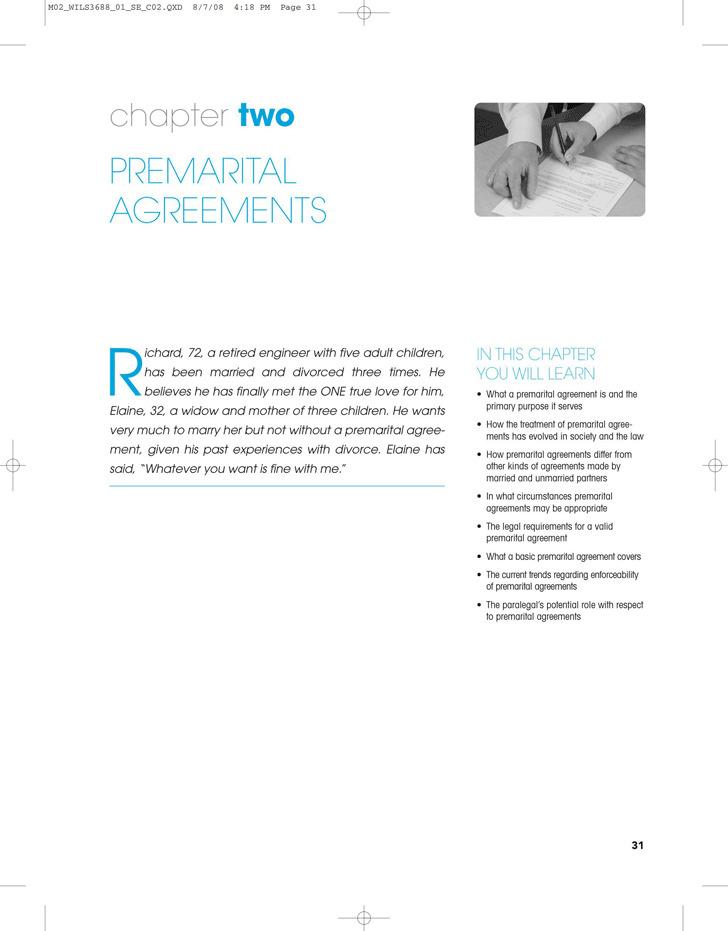Texas Prenuptial Agreement Sample