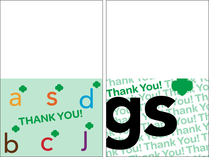 Thank You Card Template 1