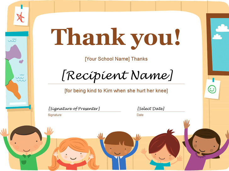 Thank you certificate download free premium templates forms thank you certificate 1 yadclub Images