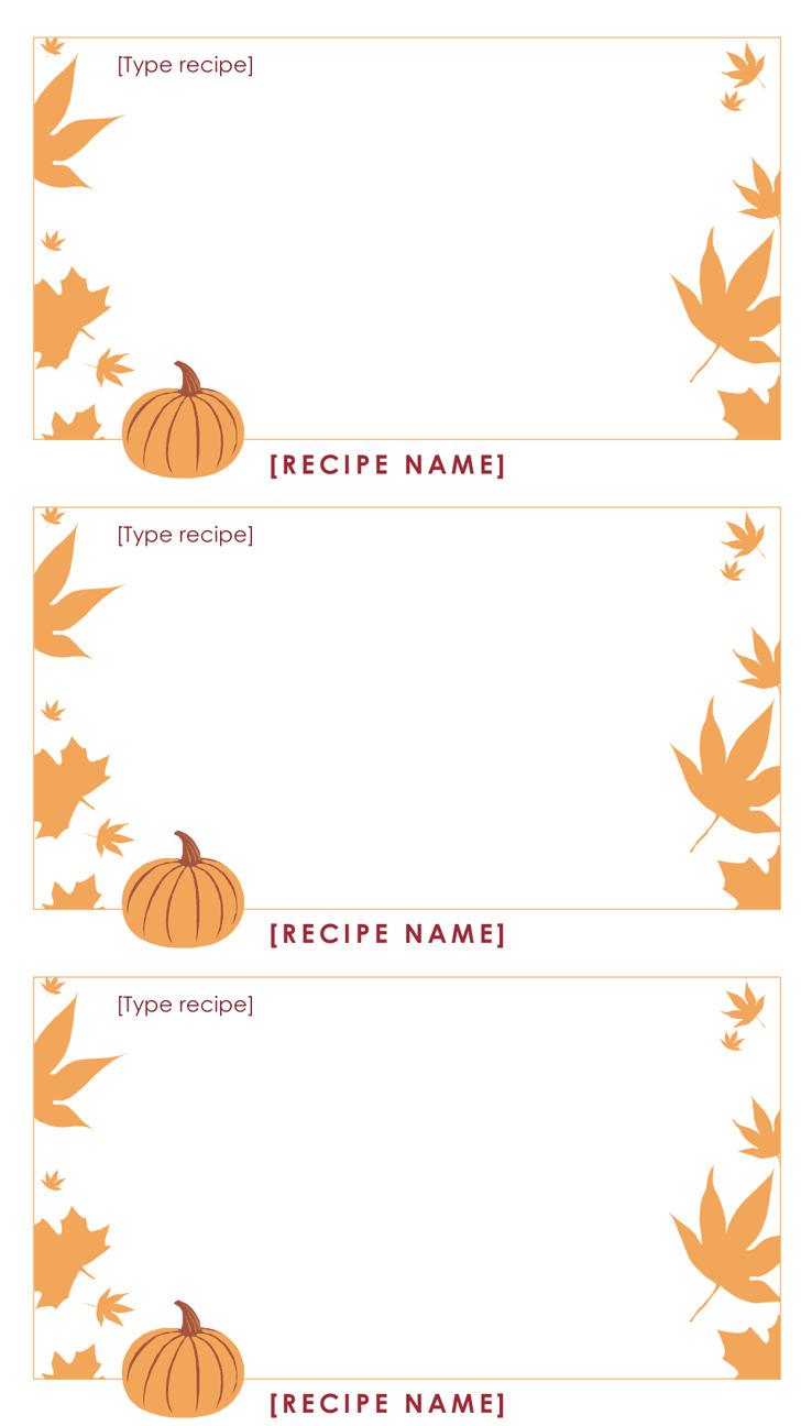 Thanksgiving Menu template 2