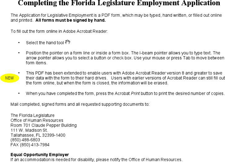 florida job application form related keywords suggestions