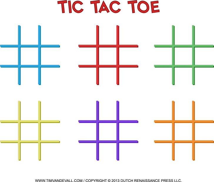 Tic Tac Toe Powerpoint Template - Classroom Gamesample Tic Tac Toe