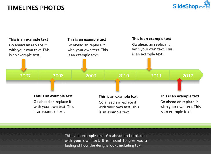 Timeline With Photos Examples
