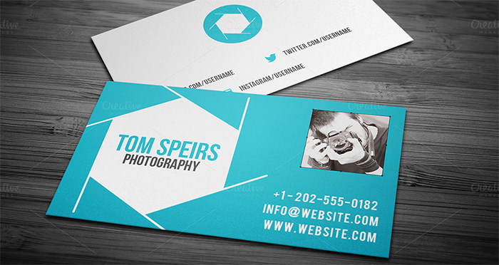 Tom Speirs Photography Business Cards